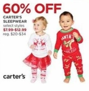 Select Carter's Children's Sleepwear