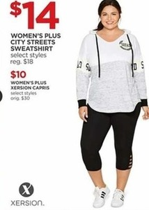 Women's Plus City Streets Sweatshirt