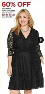 Women's Plus Size Dresses - Select Styles