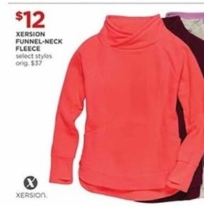 Xersion Funnel-Neck Fleece
