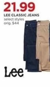 Lee Classic Jeans