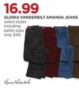Gloria Vanderbilt Women's Amanda Jeans