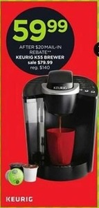 Keurig K55 Brewer After Rebate