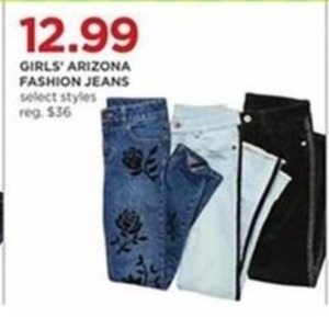 Girls' Arizona Fashion Jeans
