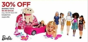 Select Barbie Toys