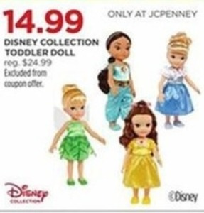Disney Collection Toddler Doll