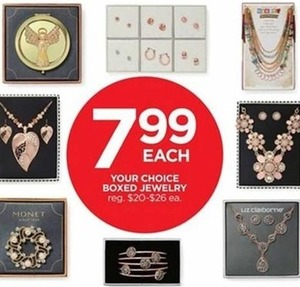 Select Boxed Jewelry