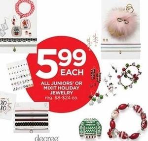 Juniors' Holiday Jewelry