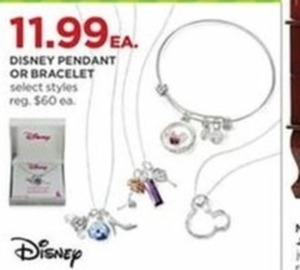 Select Disney Pendants Or Bracelets