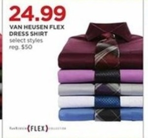 Van Heusen Men's Flex Dress Shirt