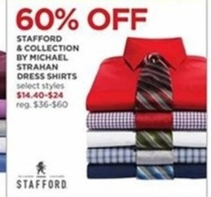 Select Stafford & Collection By Micheal Strahan Dress Shirts
