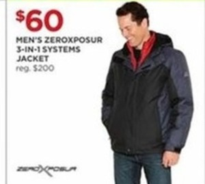 Men's Zeroxposure 3-In-1 Systems Jacket