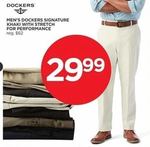 Men's Dockers Signature Khaki w/ Stretch Performance