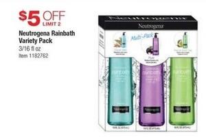 Neutrogena Rainbath Variety Pack