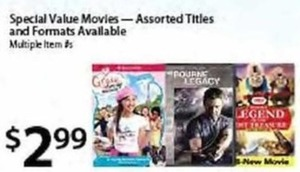 Special Value of Assorted Movies