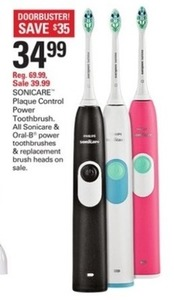 Sonicare and Oral-B Power Toothbrushes & Replacement Brush Heads
