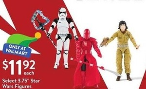 "Select 3.75"" Star Wars Figures"