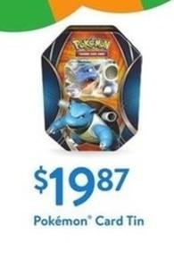 Pokemon Card Tin