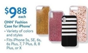 ONN Fashion Case for iPhone