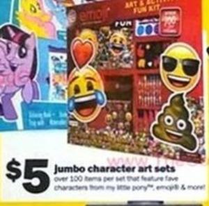 Jumbo Character Art Sets