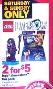 Lego Dimensions Fun Pack