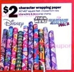 Character Wrapping Paper