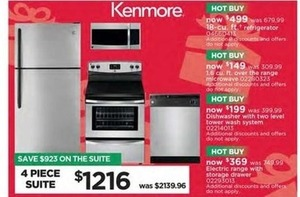 Kenmore 4 Piece Suite