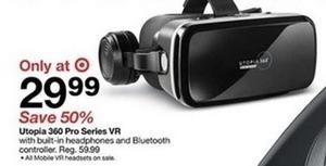 Utopia 360 Pro Series VR