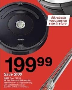 Robot Roomba 614 Robotic Vacuum
