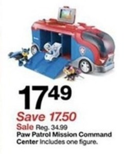 Paw Patrol Mission Command Center