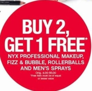 NYX Professional, Fizz & Bubble Rollerballs & Men's Sprays