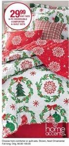 6-pc Reversible Comforter & Quilt Sets