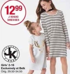 Girls J Khaki Dresses