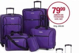 American Tourister 5-Pc. Set