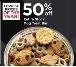 Entire Stock Of The Dog Treat Bar