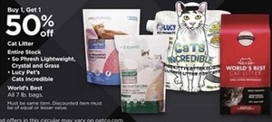 Cat Litter from So Phresh Lightweight, Lucy Pets, & World's Best