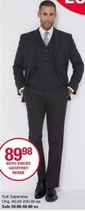 Geoffrey Beene Suit