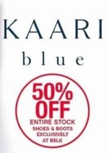 Entire Stock Kaari Blue Shoes & Boots