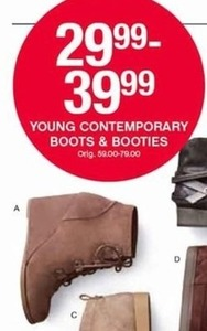 Young Contemporary Boots & Booties