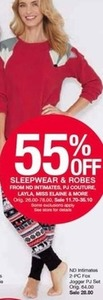 Sleepwear & Robes From Select Brands