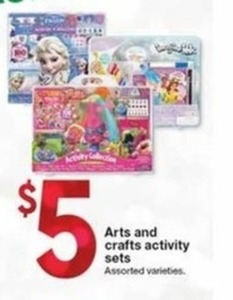 Arts And Crafts Activity Sets
