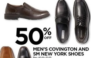 Men's Covington and SM New York Shoes