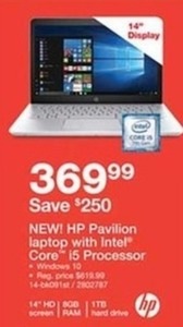 HP Pavilion Laptop with Intel Core i5