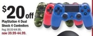 PlayStation 4 Dual Shock 4 Controllers