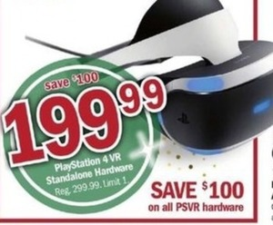 Playstations 4 VR Standalone Hardware