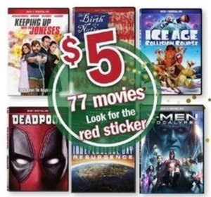 Red Sticker Movies