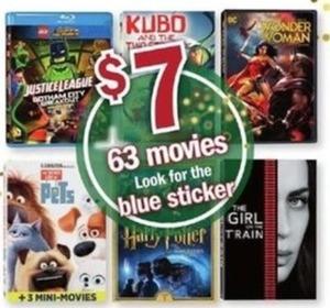 63 Movie (Look For Blue Sticker)