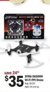 SYMA D650WH Wi-Fi FPV Drone