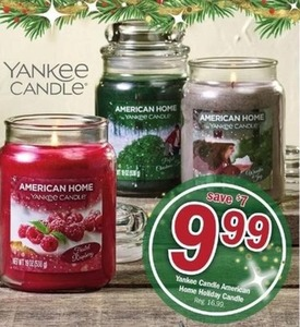 Yankee Candle American Home Holiday Candle