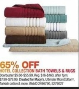 Hotel Collection Bath Towels & Rugs